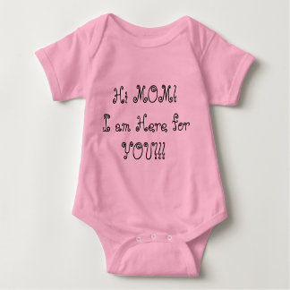 baby to mom baby bodysuit
