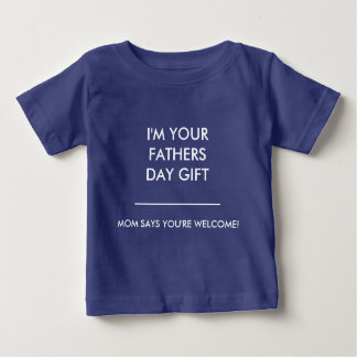 BABY/TODDLER FATHERS DAY GIFT BY ZAZZ_IT BABY T-Shirt