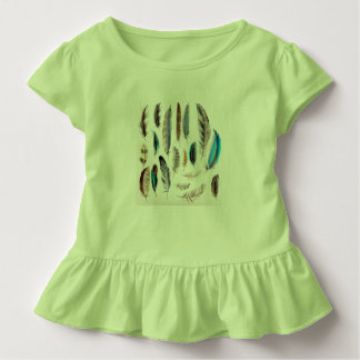Baby toddler ruffle tee : green