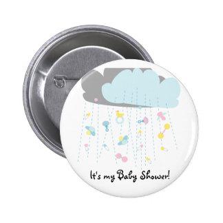 Baby Toy Shower/Baby Shower Invitation 2 Inch Round Button