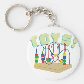 Baby Toys Basic Round Button Keychain