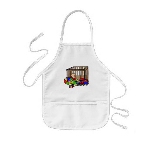 baby toys playpen apron