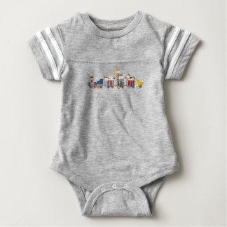 Baby Train Jumper Baby Bodysuit