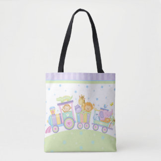 Baby Train Tote Bag