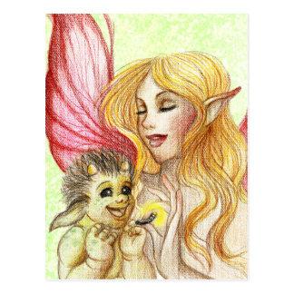 Baby Troll Postcard