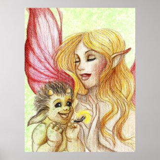 Baby troll print