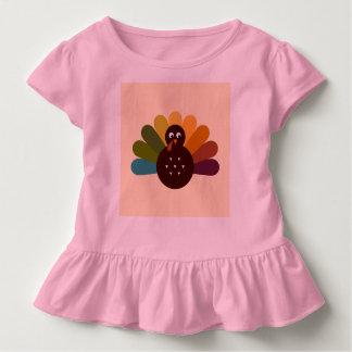 Baby tshirt with Retro bird