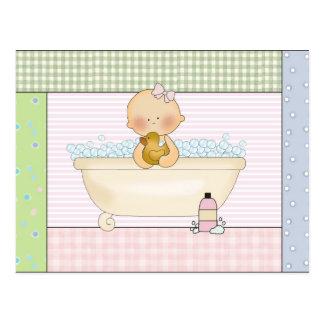 Baby Tub postcard
