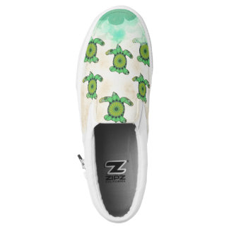 Baby Turtles Slip-On Sneakers