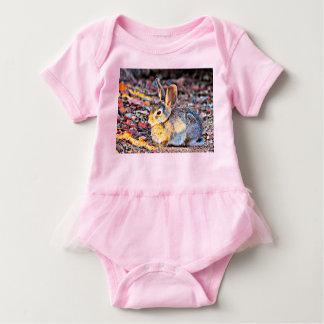 Baby Tutu Body Suit - Bunny in Sunlight Baby Bodysuit