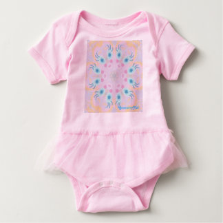 "Baby Tutu Bodysuit ""Beauty"" by MAR"