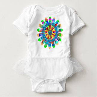 Baby Tutu Bodysuit Chakra Flowers Floral Chic