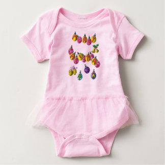 Baby Tutu Bodysuit; Merry Christmas Baby Bodysuit