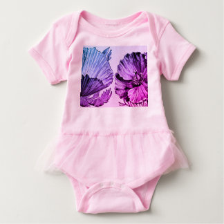 Baby Tutu Bodysuit WITH POPPY AND KANJI LOVE