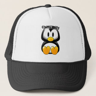baby_tux_01, Chilly Willy Trucker Hat