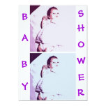 Baby Twins Shower 5x7 Paper Invitation Card