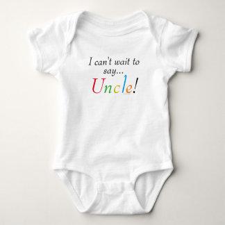 Baby Uncle Saying Fun Infant Shirt
