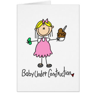 Baby Under Construction Card