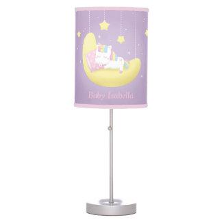 Baby Unicorn Girl Nursery Room Decor Table Lamp
