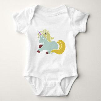 Baby Unicorn Jersey Bodysuit
