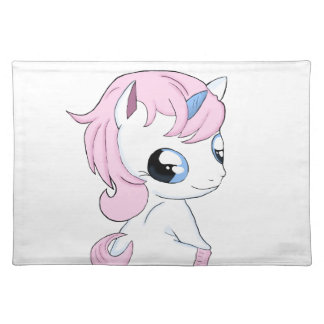 Baby unicorn placemat