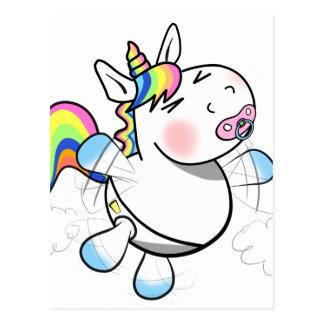 Baby Unicorn Postcard