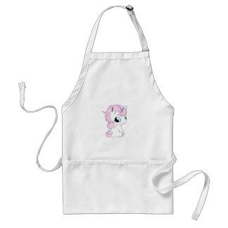 Baby unicorn standard apron