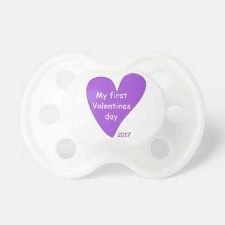 Baby Valentines Pacifier