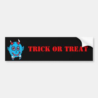 Baby Vamp (2), TRICK OR TREAT Bumper Sticker