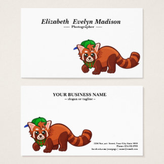 baby weasel 234 business card