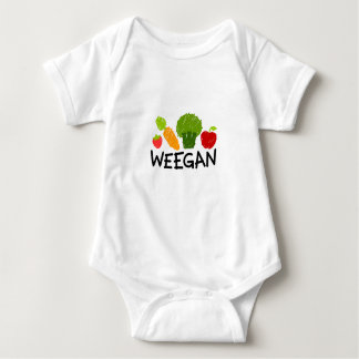 Baby Weegan Bodysuit - Light