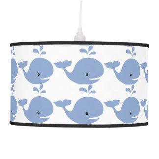 Baby Whale Nursery Pendant Lamp