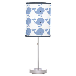Baby Whale Nursery Table Lamp