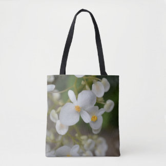 Baby White Flowers Tote Bag