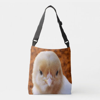 Baby White Patchy Chicken, Crossbody Bag
