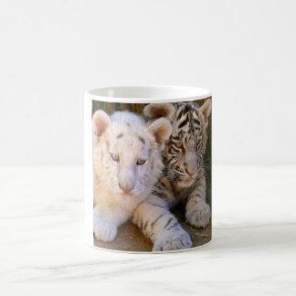 Baby White Tiger Mugs