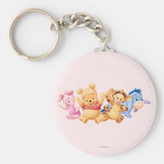 Baby Winnie the Pooh Friends Keychain