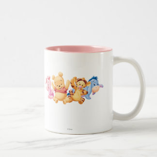 Baby Winnie the Pooh Friends Mugs