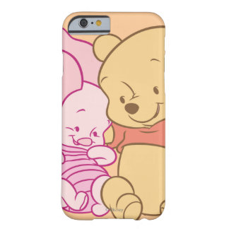Baby Winnie the Pooh & Piglet Hugging Barely There iPhone 6 Case