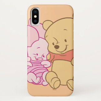 Baby Winnie the Pooh & Piglet Hugging Case-Mate iPhone Case