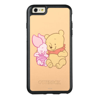 Baby Winnie the Pooh & Piglet Hugging OtterBox iPhone 6/6s Plus Case