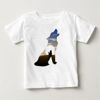 Baby wolf moon baby T-Shirt