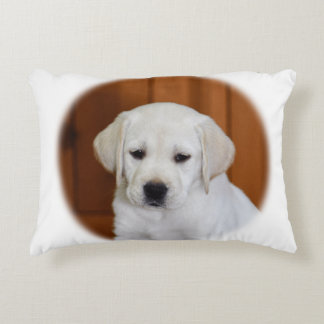 Baby Yellow Lab Accent Pillow
