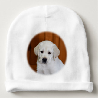 Baby Yellow Lab Baby Beanie