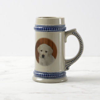 Baby Yellow Lab Beer Stein