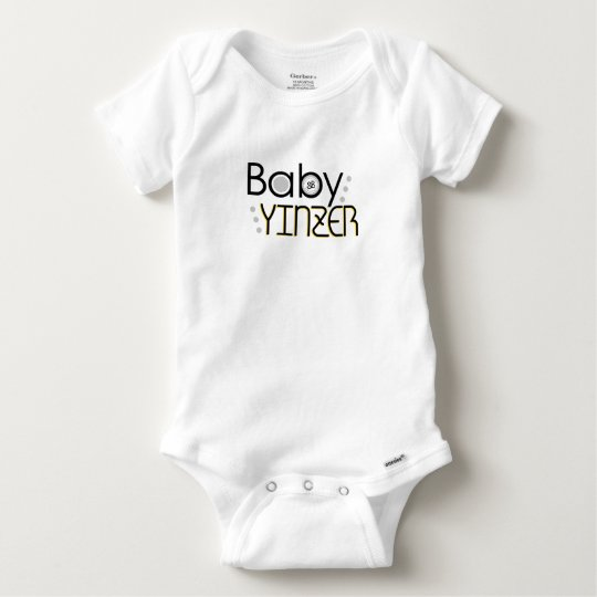 Baby Yinzer Baby Onesie