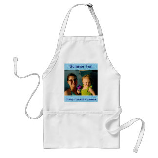 Baby You're A Firework Personalized Summer Fun Standard Apron