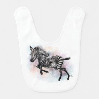 Baby Zebra Bib