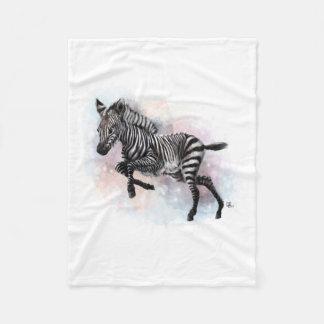Baby Zebra Fleece