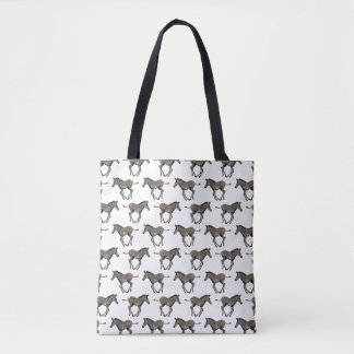 Baby Zebra Frenzy All Over Print Bag